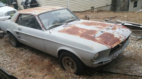 1967 Ford Mustang Coupe Salvage for sale