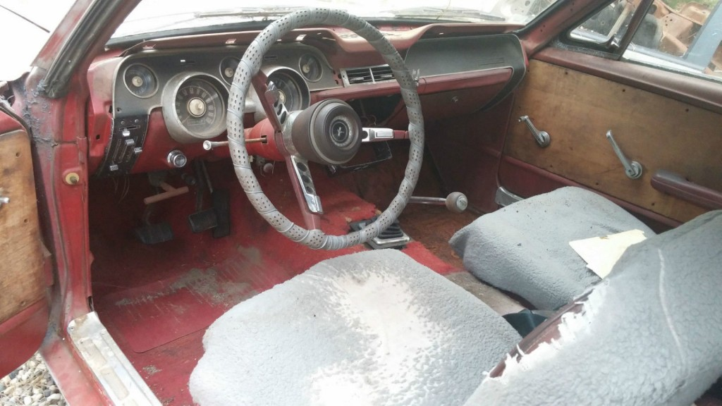 1967 Ford Mustang Coupe Salvage