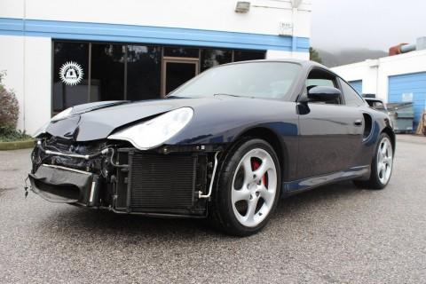 2002 Porsche 911 Turbo Salvage for sale