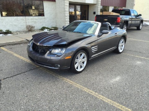 2005 Chrysler Crossfire Limited Salvage for sale