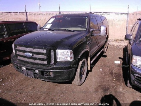 2005 Ford Excursion LIMITED Salvage for sale
