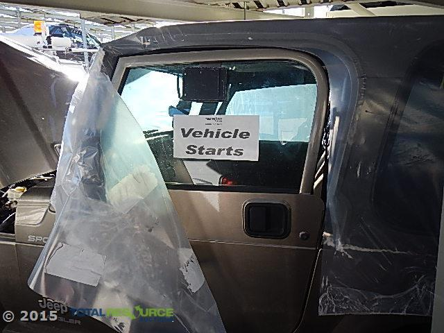 2006 Jeep Wrangler 6C SPORT Salvage