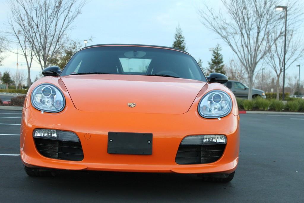 2008 Porsche Boxster Limited Edition Salvage
