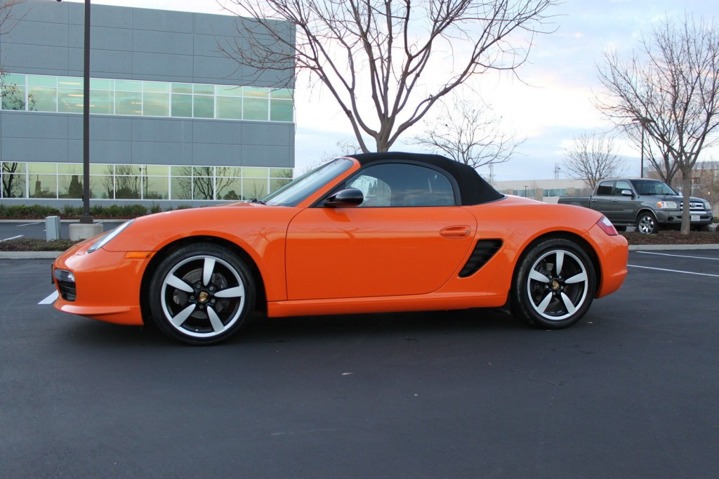 2008 Porsche Boxster Limited Edition Salvage