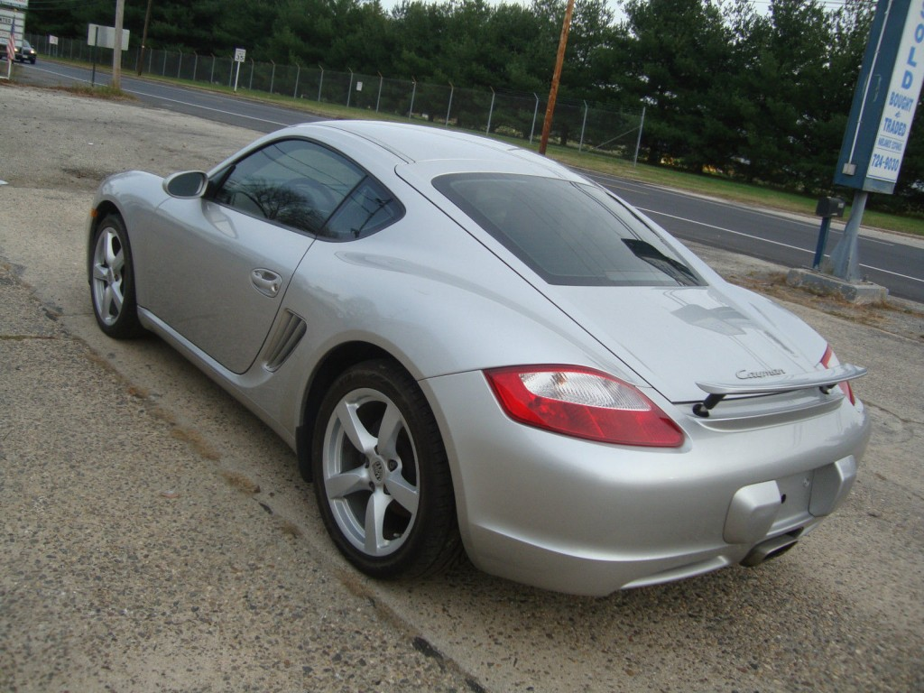 2008 Porsche Cayman 5 Speed Manual Salvage Rebuildable