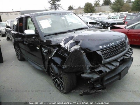 2011 Land Rover Range Rover Sport Supercharged Salvage for sale