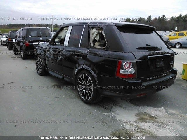 2011 Land Rover Range Rover Sport Supercharged Salvage