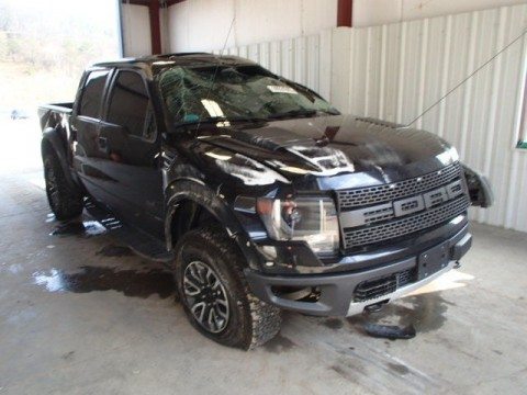 2013 Ford F 150 SVT RAPTOR Salvage for sale