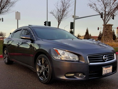 2013 Nissan Maxima 3.5 SV W/sport Pkg Salvage title for sale