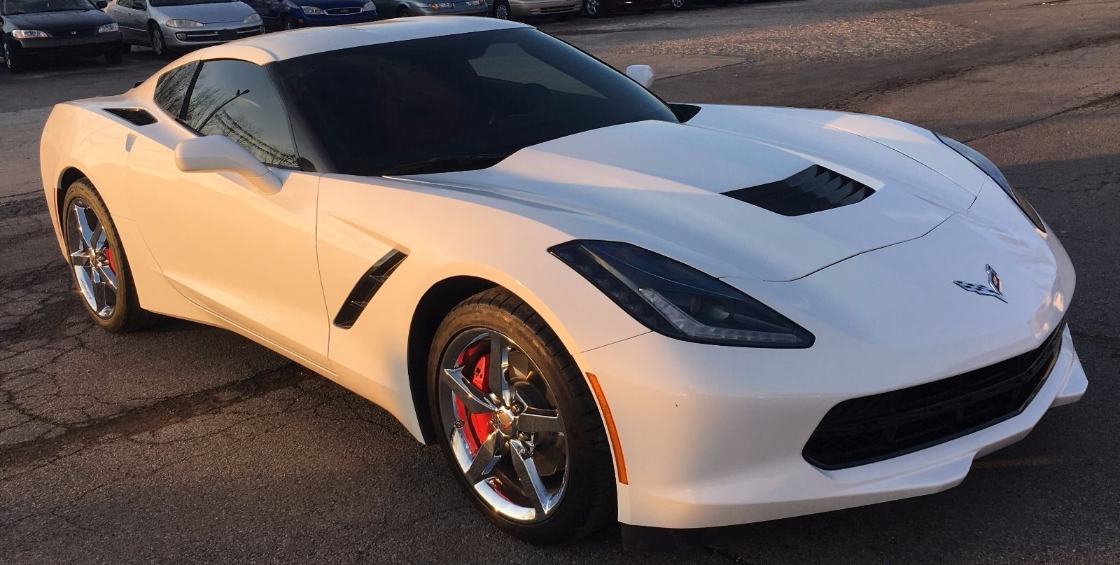 2014 Chevrolet Corvette 1LT Salvage for sale