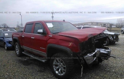 2014 GMC Sierra 1500 SLT Salvage for sale