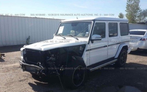 2014 Mercedes Benz G63 AMG Salvage for sale