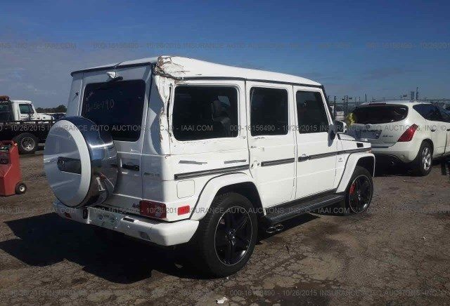 2014 Mercedes Benz G63 AMG Salvage