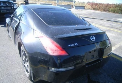 2014 Nissan 350Z Enthusiast 350ZX Salvage for sale