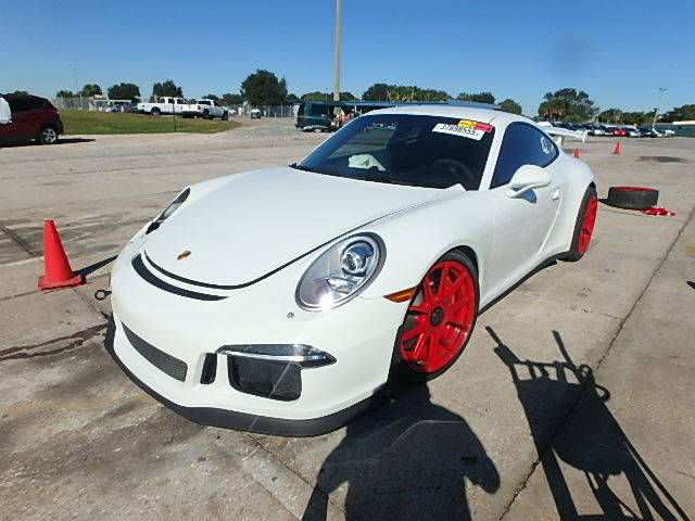 2014 porsche 911 gt3 salvage for sale. Black Bedroom Furniture Sets. Home Design Ideas