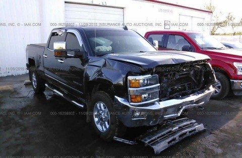 2015 Chevrolet Silverado 2500 SILVERADO Salvage for sale