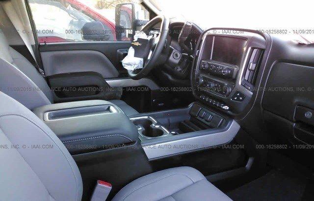 2015 Chevrolet Silverado 2500 SILVERADO Salvage