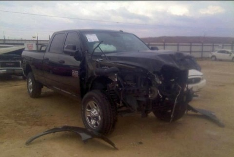 2015 Dodge Ram 2500 RAM TRUCK Salvage for sale