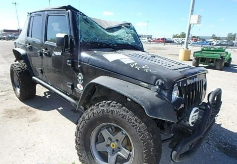 2015 Jeep Wrangler UNLIMITED Salvage for sale