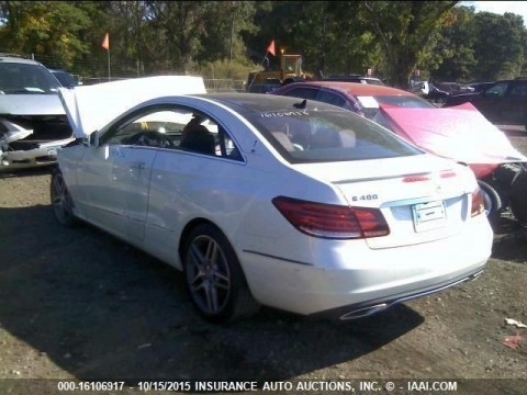 2015 Mercedes Benz E400 4matic coupe Salvage for sale