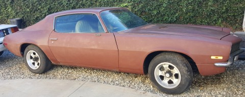 1971 Chevrolet Camaro SS Salvage for sale