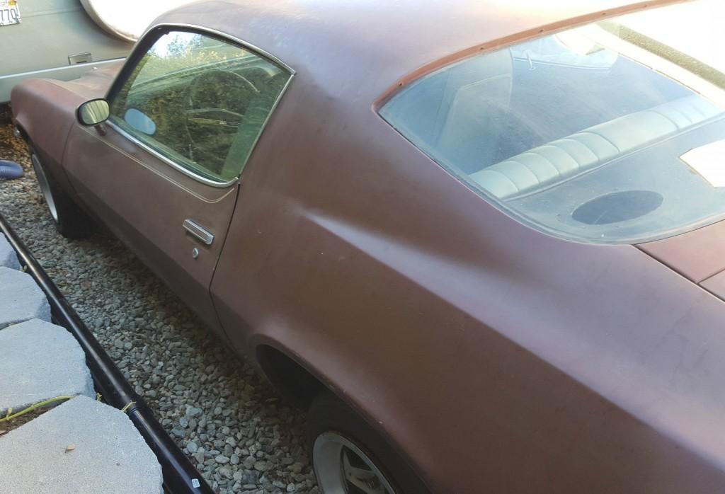 1971 Chevrolet Camaro SS Salvage
