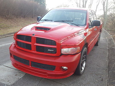 2005 Dodge Ram 1500 SRT10 Viper V10 Salvage for sale