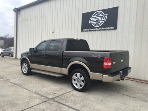 2007 Ford F 150 Supercrew KING Ranch 4X4 Salvage for sale