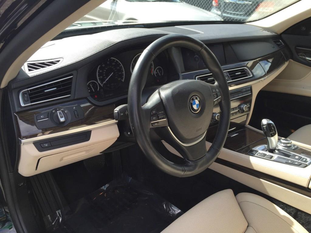2009 BMW 7 Series 750i Sport PKG Salvage