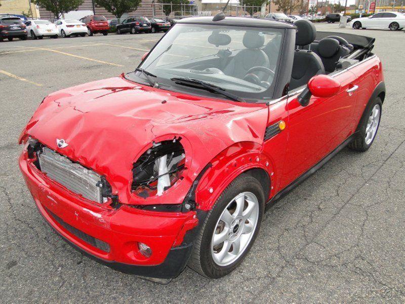 2010 Mini Cooper Convertible Salvage For Sale