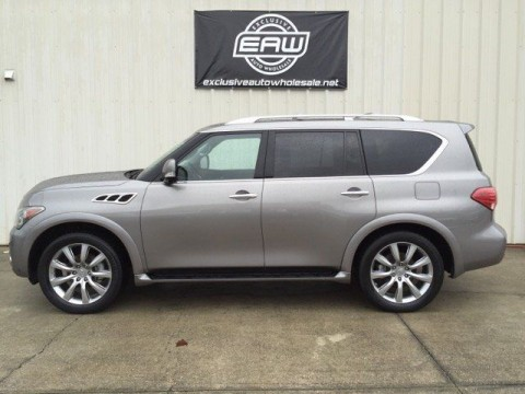 2012 Infiniti QX56 Touring Salvage for sale
