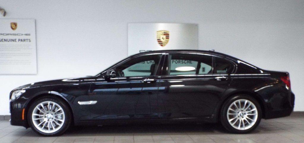2014 Bmw 7 Series 750li Xdrive Salvage For Sale