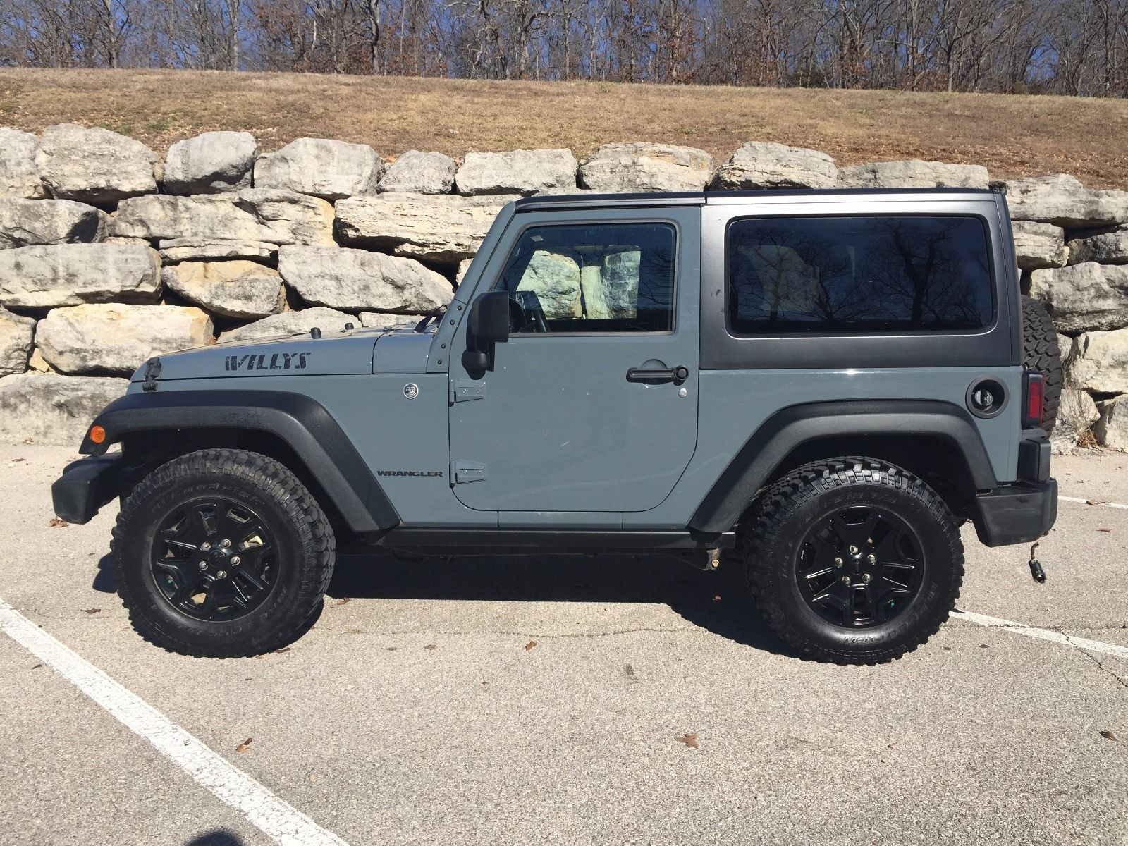 2015 Jeep Wrangler Willys Wheeler Salvage For Sale