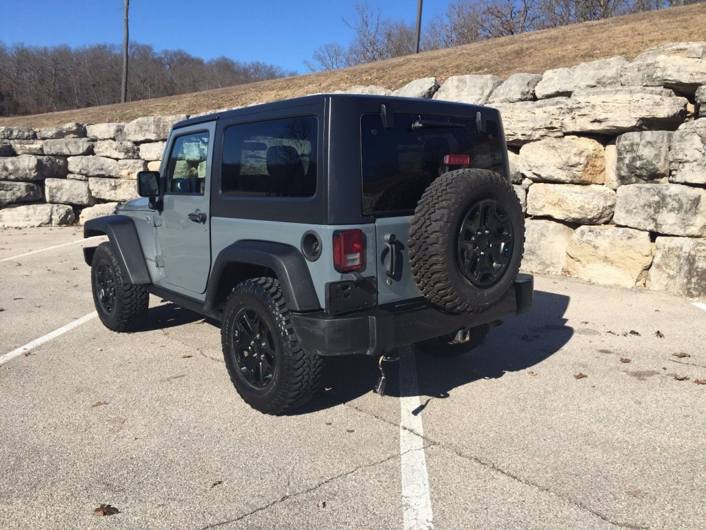 2015 Jeep Wrangler Willys Wheeler Salvage