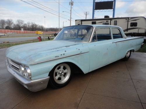 1961 Ford Fairlane hot rod patina