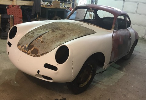 1962 Porsche 356 B Coupe Project for sale