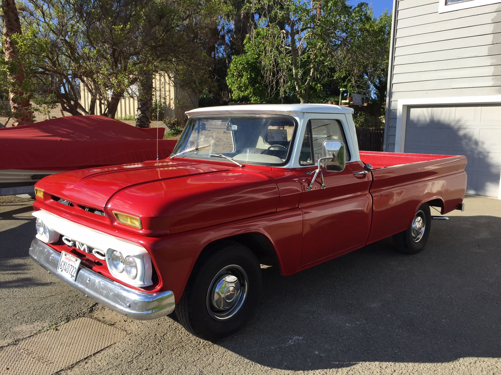 1965 gmc series 1000 c10 longbed truck for sale. Black Bedroom Furniture Sets. Home Design Ideas