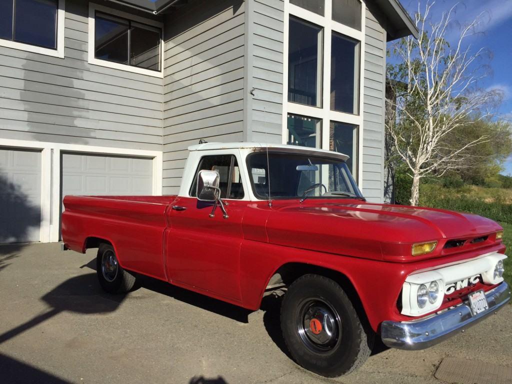 1965 GMC Series 1000 C10 Longbed Truck