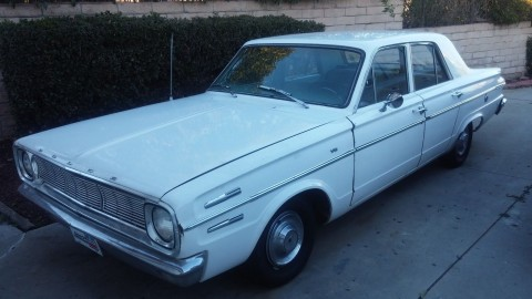 1966 Dodge Dart 270 Sedan for sale