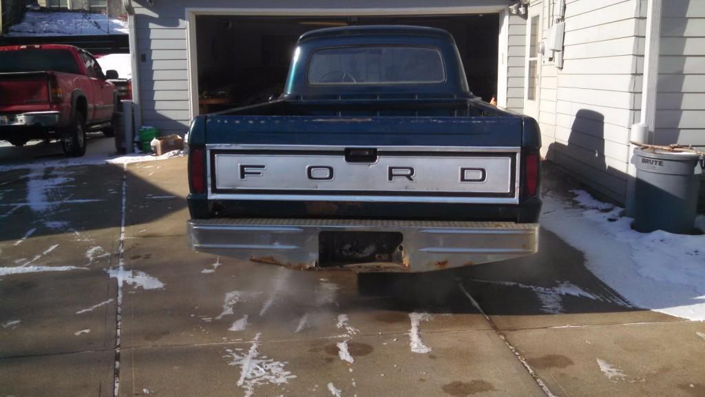 1966 Ford F100 Rat rod