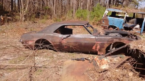 1969 Camaro Project body race car donor for sale
