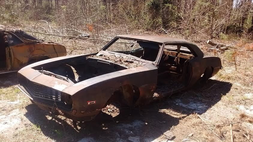 1969 Camaro Project body race car donor
