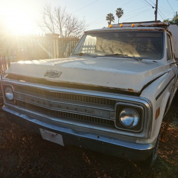 1969 Chevrolet C 10 long bed pickup truck for sale
