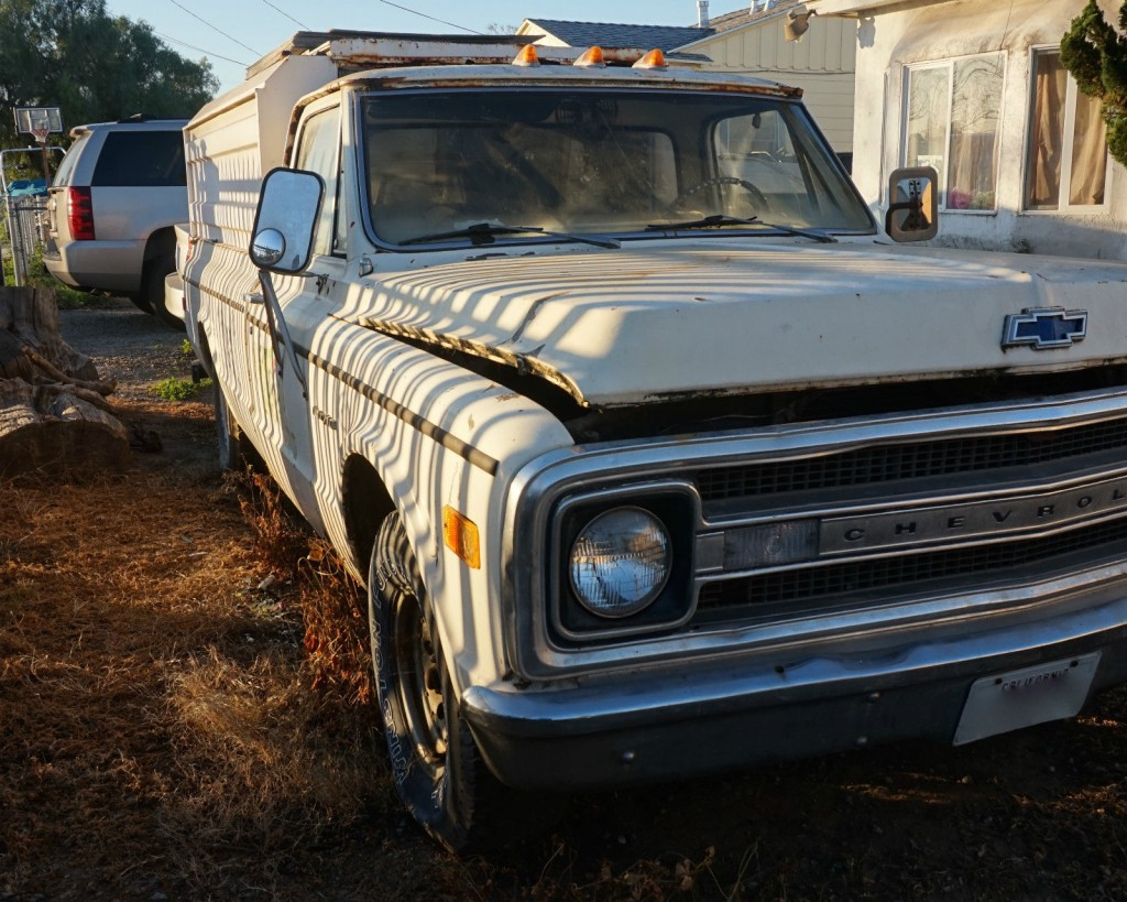1969 Chevrolet C 10 long bed pickup truck