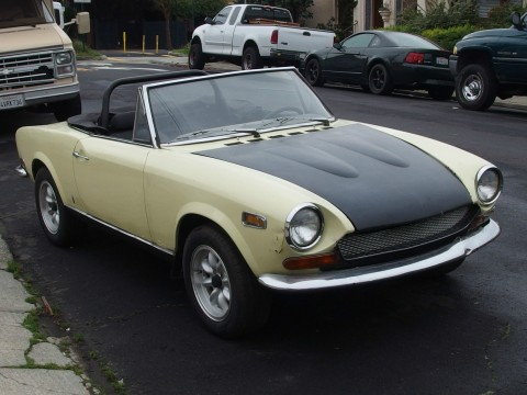 1970 Fiat 124 spider project for sale