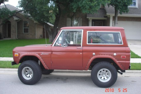 1970 Ford Bronco 4×4 for sale