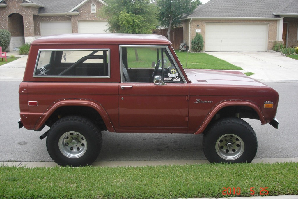 1970 Ford Bronco 4×4