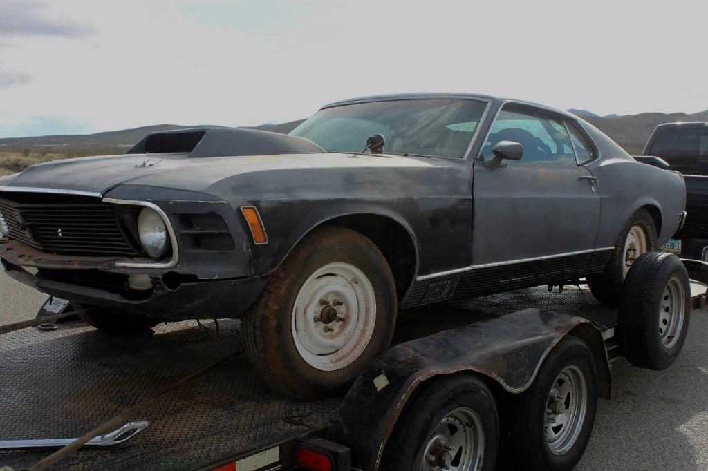 1970 Ford Mustang Mach 1 Desert Car