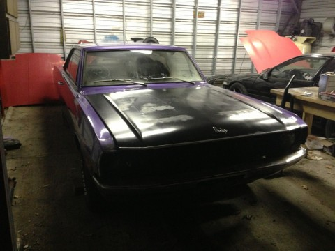 1971 Dodge Dart 360 4 Speed 8 3/4 disc Brakes Project mopar for sale