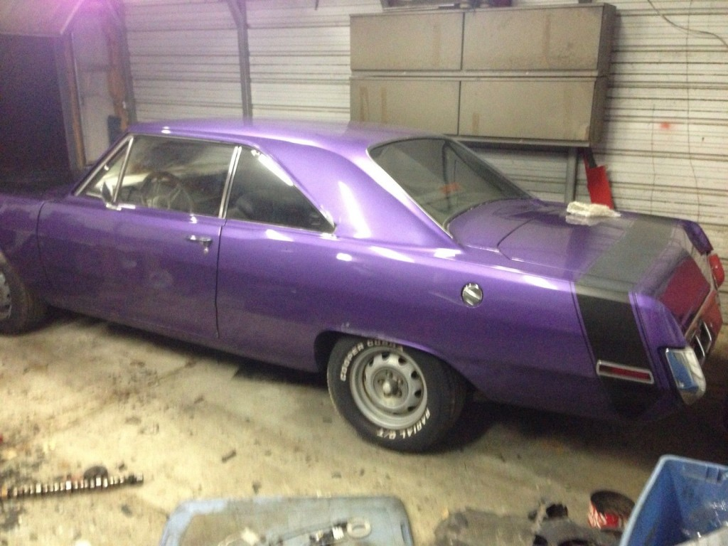 1971 Dodge Dart 360 4 Speed 8 3/4 disc Brakes Project mopar